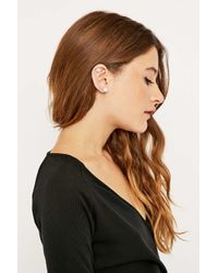 Urban Outfitters | Metallic Pearl To Pearl Ear Cuff | Lyst