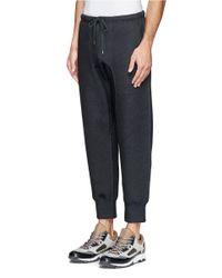 Kolor - Gray Drawstring Sweatpants for Men - Lyst
