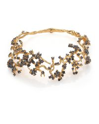 Alexander McQueen | Red Cherry Blossom Choker Necklace | Lyst