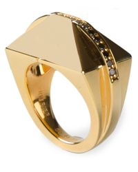 Ruifier - Metallic 'icon Shard' Ring - Lyst
