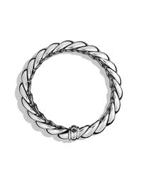 David Yurman | Metallic Hampton Bracelet, 14mm | Lyst