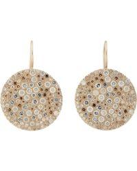Roberto Marroni - Multi Diamond & Natural White Gold Musoni Earrings - Lyst