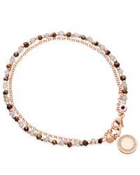 Astley Clarke - Pink Rose Gold Vermeil Cosmos Friendship Bracelet - Lyst