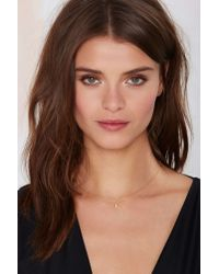 Nasty Gal | Metallic Little Luna Necklace | Lyst