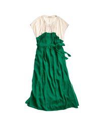 Madewell - Green Cabana Dress - Lyst