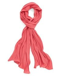 Echo - Red Solid Wrap - Lyst