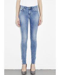 M.i.h Jeans - Blue Ultra-Skinny Five-Pocket Jeans - Lyst