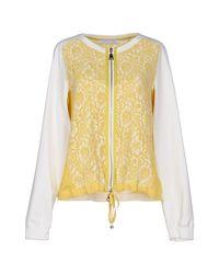 Caractere - Yellow Sweatshirt - Lyst