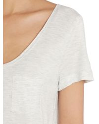 Noa Noa | Metallic Short Sleeve T-shirt | Lyst