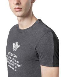 Belstaff | Black Teagle Logo Print Cotton Jersey T-shirt for Men | Lyst