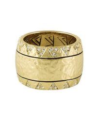 House of Harlow 1960 | Metallic Safari Band Ring | Lyst