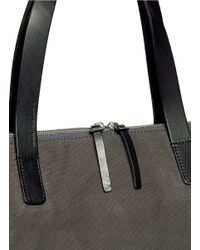 Seventy Eight Percent | Gray Eli Oversized Canvas Tote for Men | Lyst