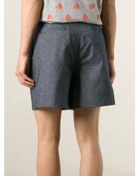Kris Van Assche - Blue Denim Shorts for Men - Lyst