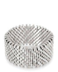 Alice Menter | Metallic Isla Silver Plated Bracelet | Lyst