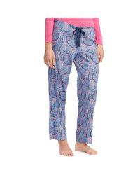 Ralph Lauren | Pink Drawstring Pajama Pant | Lyst