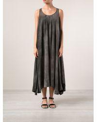 Uma Wang - Gray Sheer Dress - Lyst
