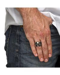 Palmbeach Jewelry - Metallic Men's Skulls Ring In Stainless Steel for Men - Lyst