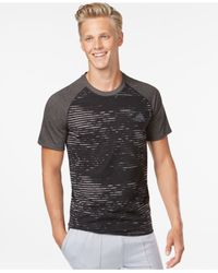 Adidas | Gray Men's Graphic Print T-shirt for Men | Lyst