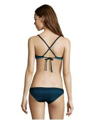 Vitamin A - Blue Maia 'tamarindo' Crocheted Bikini Bottoms - Lyst