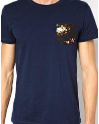 Junk De Luxe | Blue T-shirt Dwayne for Men | Lyst