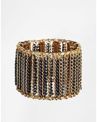Kenneth Jay Lane - Metallic Chain Bracelet - Lyst
