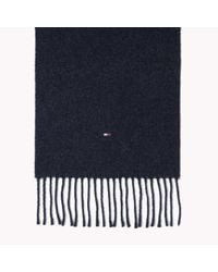 Tommy Hilfiger | Blue Hampton Scarf for Men | Lyst