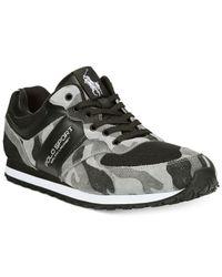 Polo Ralph Lauren | Gray Slaton Sport Sneakers for Men | Lyst