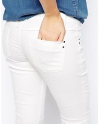 Esprit - White Skinny Ankle Grazer Jeans - Lyst