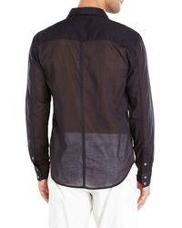 Nicholas K - Black Dexter Woven Shirt for Men - Lyst