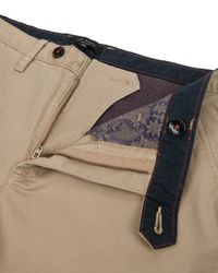 Ted Baker - Natural Clegan Slim Fit Chino for Men - Lyst