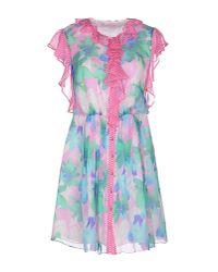 Matthew Williamson - Green Short Dress - Lyst