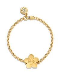 Tory Burch | Metallic Cecily Simple Bracelet | Lyst