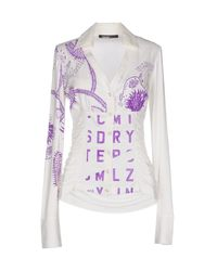 Pianurastudio - Purple Shirt - Lyst