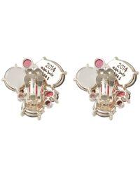 Stephen Dweck - Metallic Oval Druzy Triple Stone Earrings - Lyst