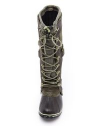 Sorel - Brown 'slimpack' Riding Boot - Lyst