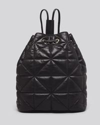 MILLY - Black Backpack - Avery Quilted - Lyst