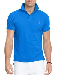 Ralph Lauren | Blue Polo Classic-fit Mesh Polo Shirt for Men | Lyst