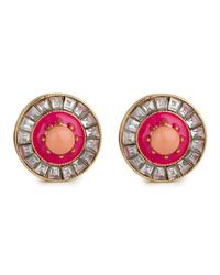 Lele Sadoughi | Sundial Earrings, Pink | Lyst