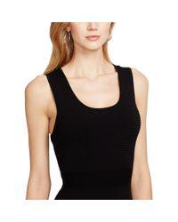 Ralph Lauren - Black Scoop-neck Sleeveless Dress - Lyst