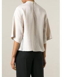 Dagmar - Natural 'gemma' T-shirt Blouse - Lyst