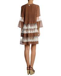 Twin Set - Natural Beach Dress - Lyst