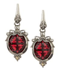 Stephen Webster | Red Jewels Verne Octopus Earrings Raspberry | Lyst