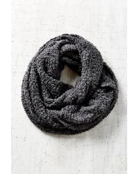 Urban Outfitters - Black Variegated Cozy Eternity Scarf - Lyst