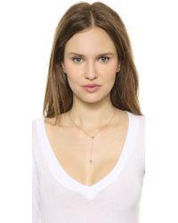 Jennifer Zeuner - Pink Kayden Necklace - Rose - Lyst