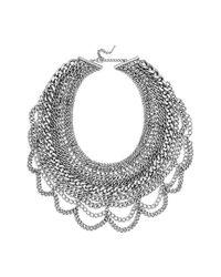 BaubleBar | Metallic 'courtney' Bib Necklace | Lyst