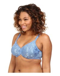 Wacoal | Blue Awareness Seamless Underwire Bra 85567 | Lyst