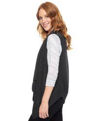 Splendid | Black Sullivan Sweater Vest | Lyst