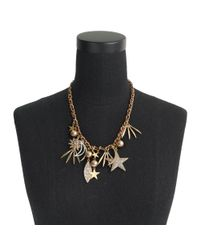 J.Crew - Metallic Firework Charm Necklace - Lyst