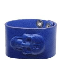 John Richmond | Blue Bracelet | Lyst
