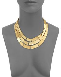 Kelly Wearstler | Metallic Medina Three-row Bib Necklace | Lyst